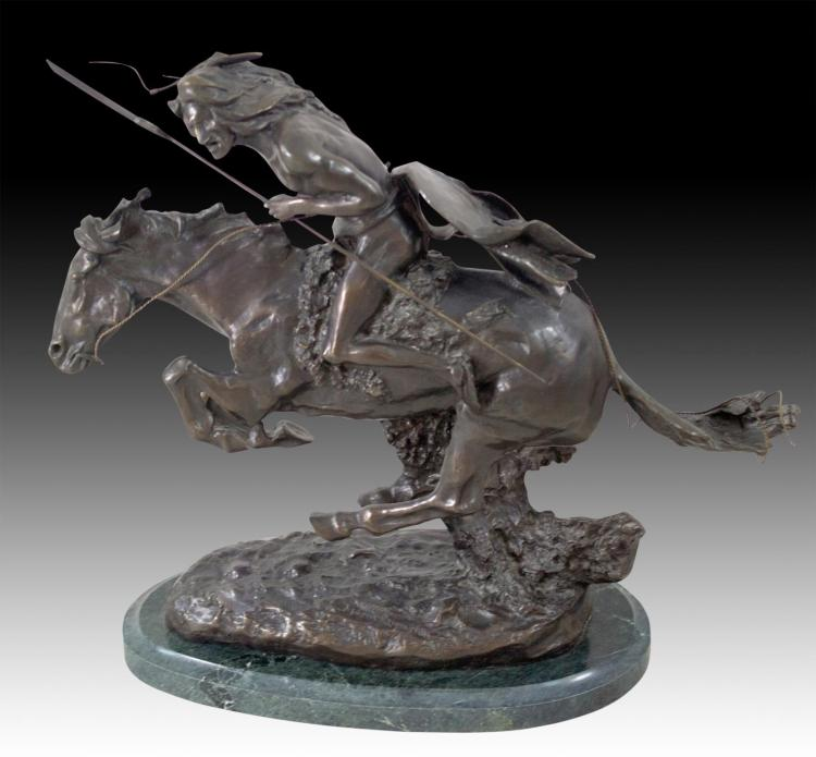 "After Frederic Remington (1861-1909) ""Cheyenne"""