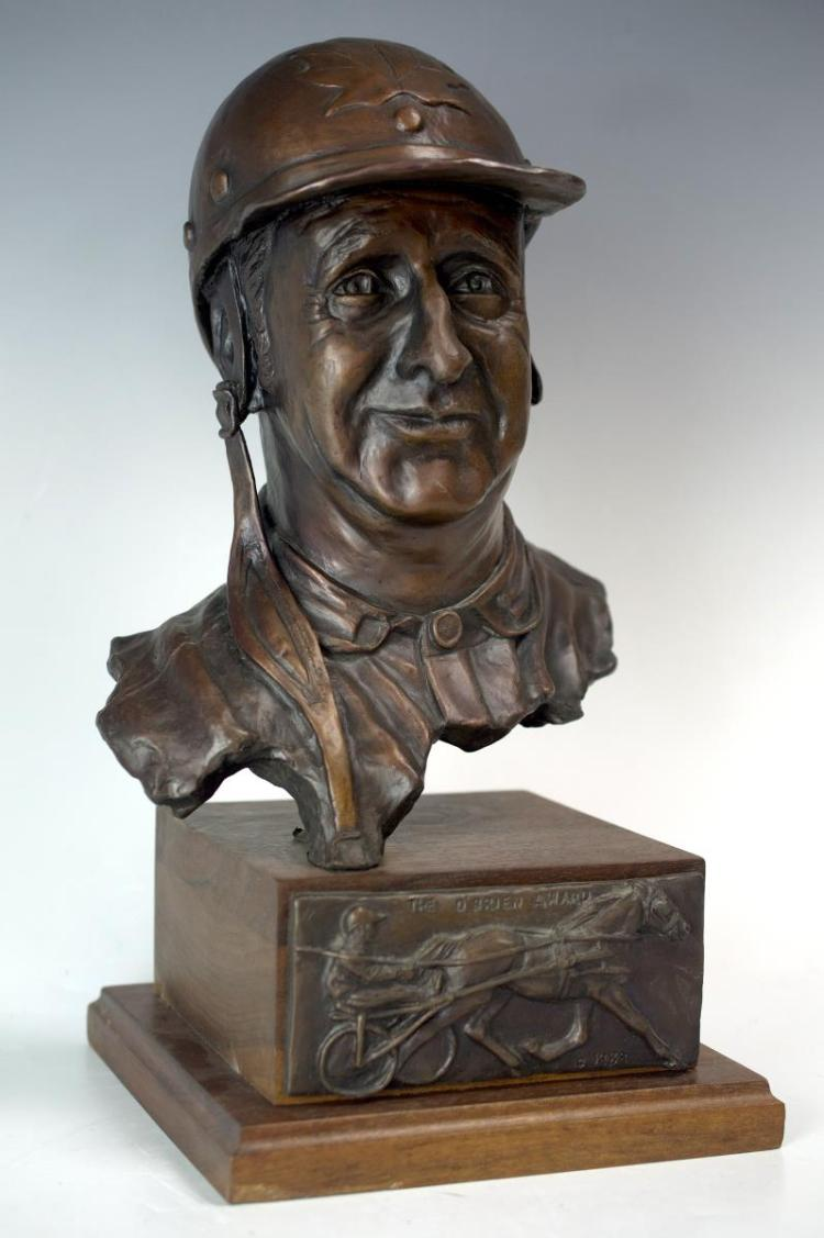Harness Racing Bronze Trophy The O'Brien Award '89
