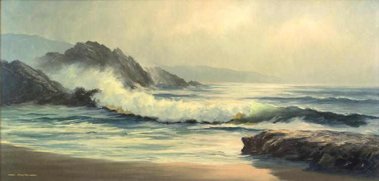Russell Moreton (1929-1994) California Seascape