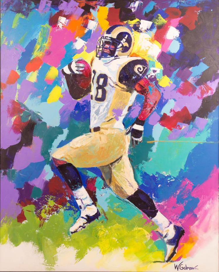 Winford Galmon (20th C) Marshall Faulk #28