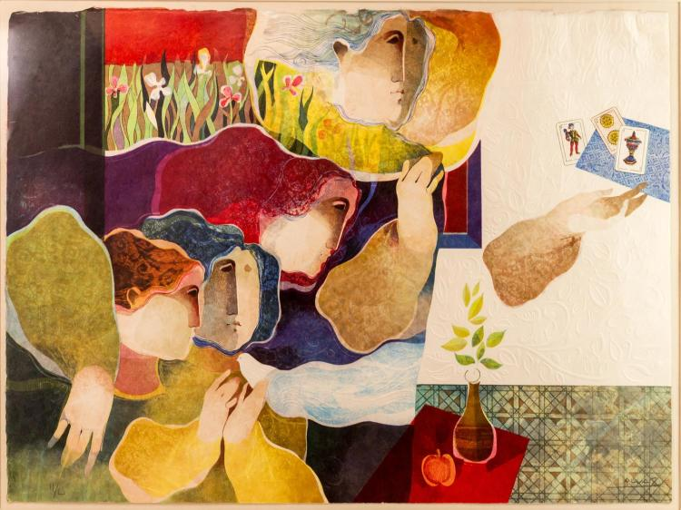 Alvar Sunol Munoz-Ramos (1935-) Lithograph