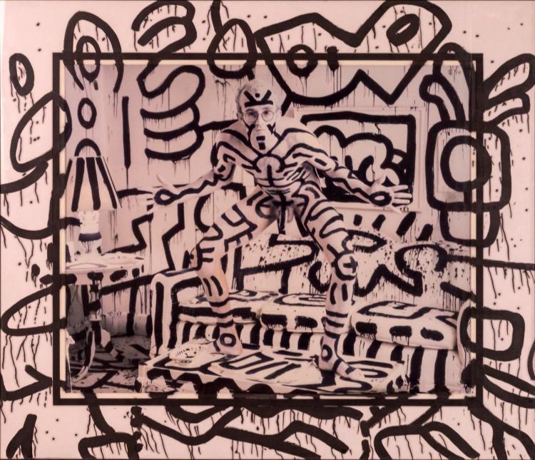 Annie Leibovitz (1949-) Keith Haring, NY Print