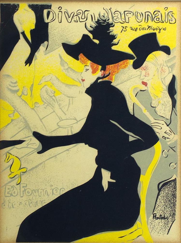 Henri Toulouse-Lautrec (1864-1901) Divan Japonais