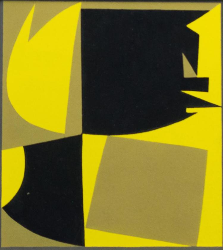Victor Vasarely (1906-1997) Abstract Pochoir