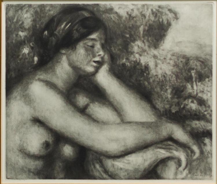 Pierre Auguste Renoir (1841-1919)La Femme Endormie
