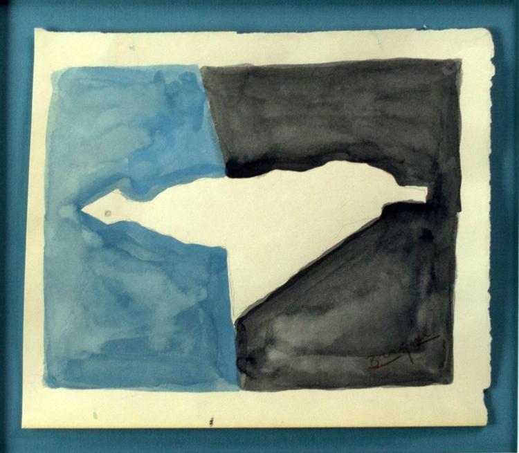 George Braque Original Gouache, 'Le Canard'