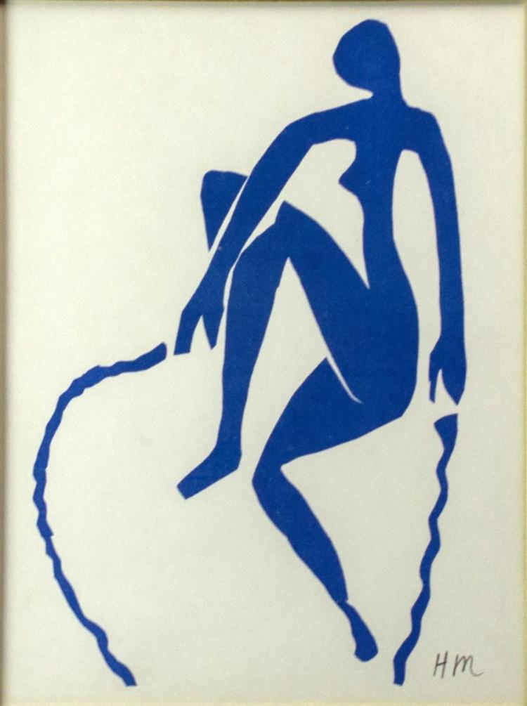 Henri Matisse (1869-1954) Lithograph