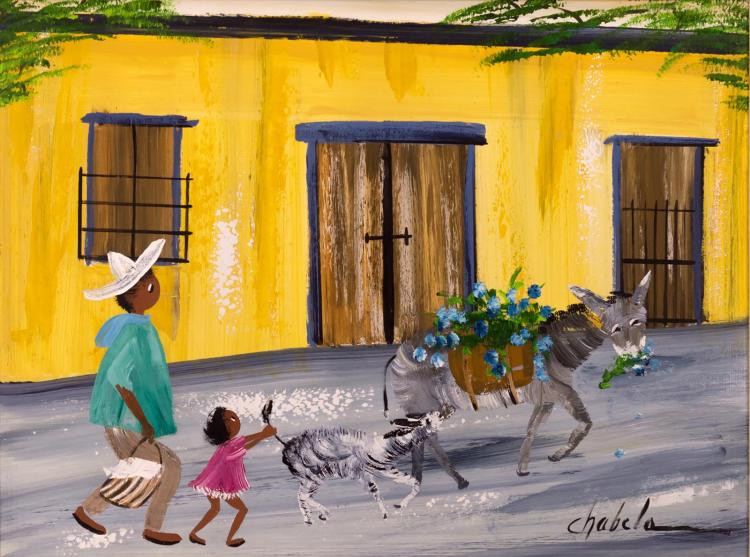 Elizabeth C Haas (Chabela) Oil Painting