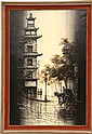 Signed Manien Oil on Canvas, San Francisco