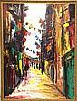 Signed Nubar Bedrossian (d. 1992) Oil on Canvas