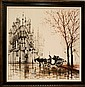 Signed Lawrence Monier (1942 - ) Oil on Canvas #2