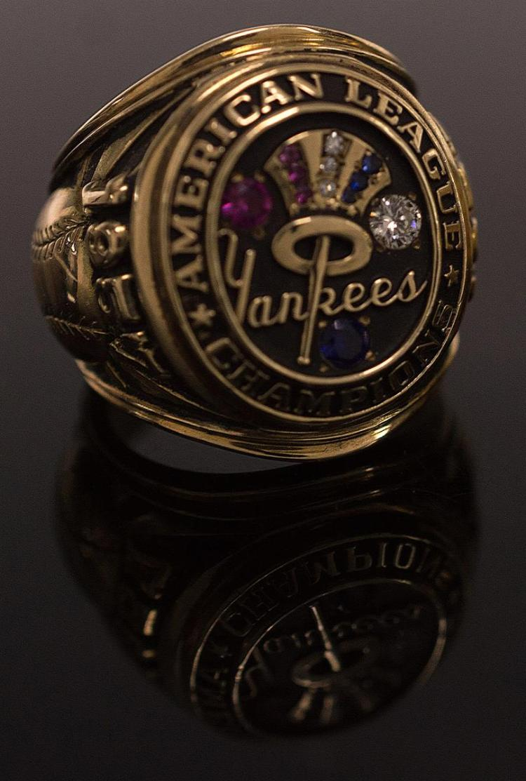 1957 Yankee American League Champions Ring