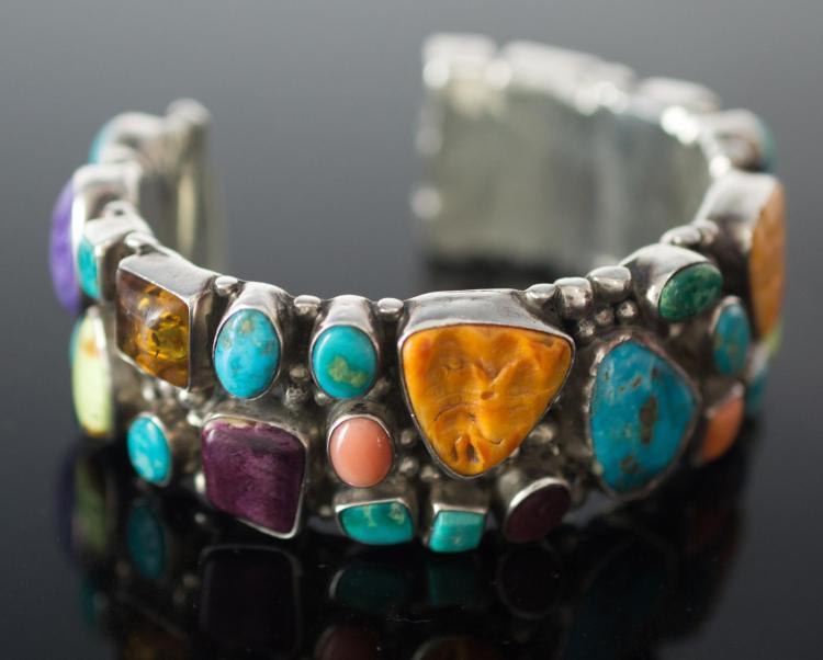 Running Bear Shop Sterling Silver Cuff Bracelet