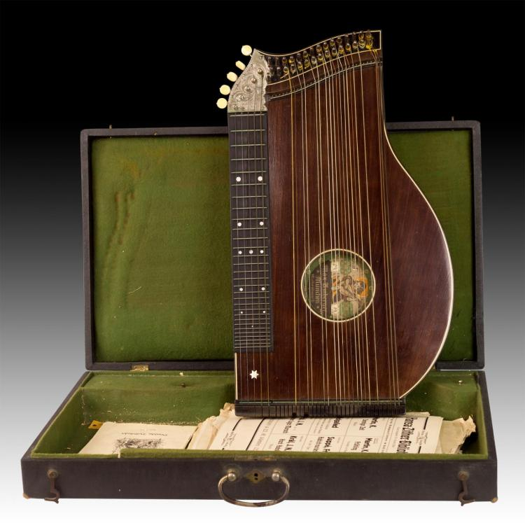 Max Umberger Munich Germany Zither