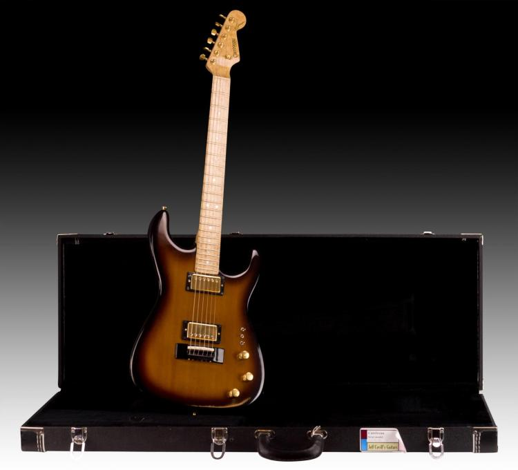 1983 Prototype Carrvieau Strat Model
