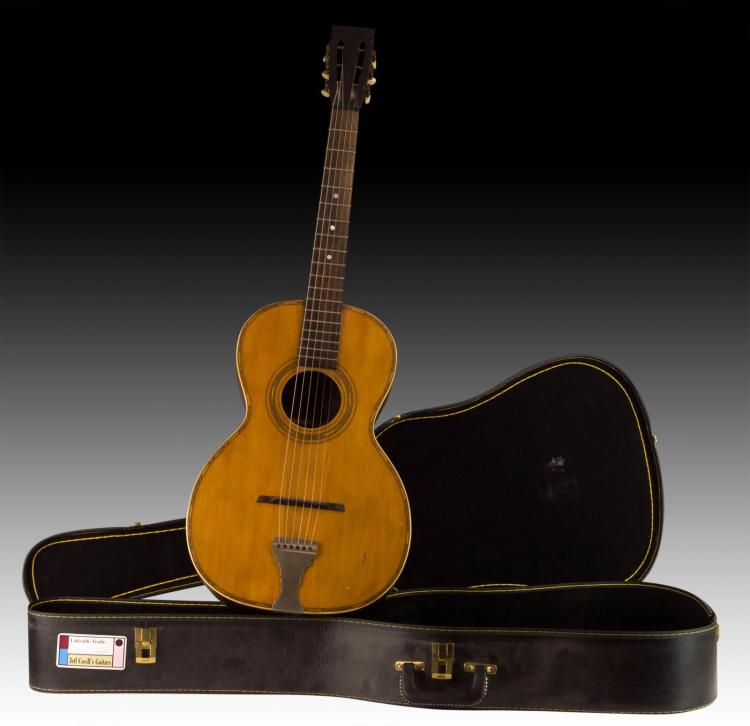 C. 1890-1920 Lakeside Trademark Parlor Guitar