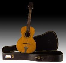 C. 1890-1920 Lakeside Trademark Parlor Guitar