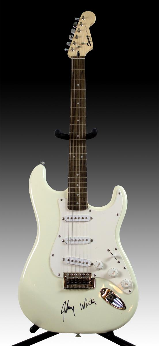 Johnny Winter Fender Squier Bullet Strat