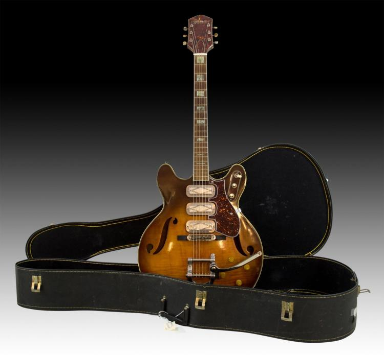 1968 Harmony Heath Hollowbody Guitar