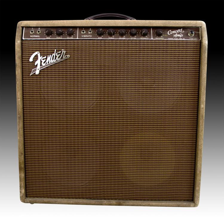 Rare Fender 1960 Concert