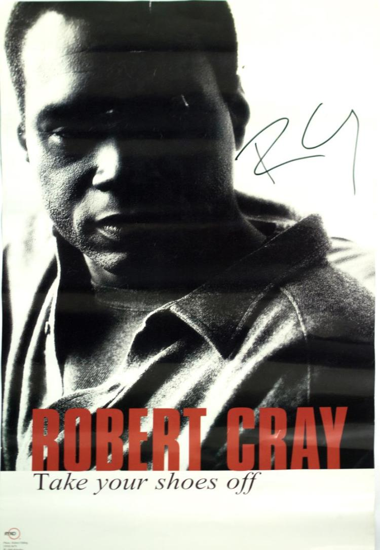 Autographed Robert Cray Poster