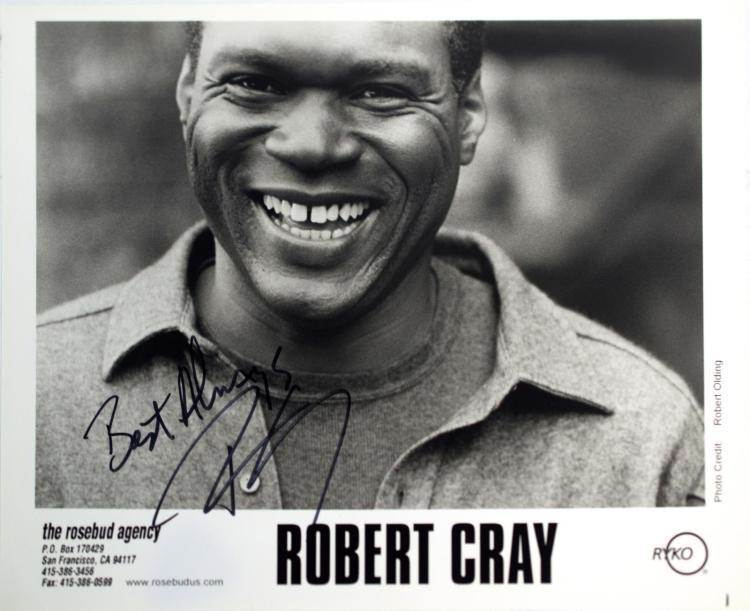 Autographed Robert Cray Photo