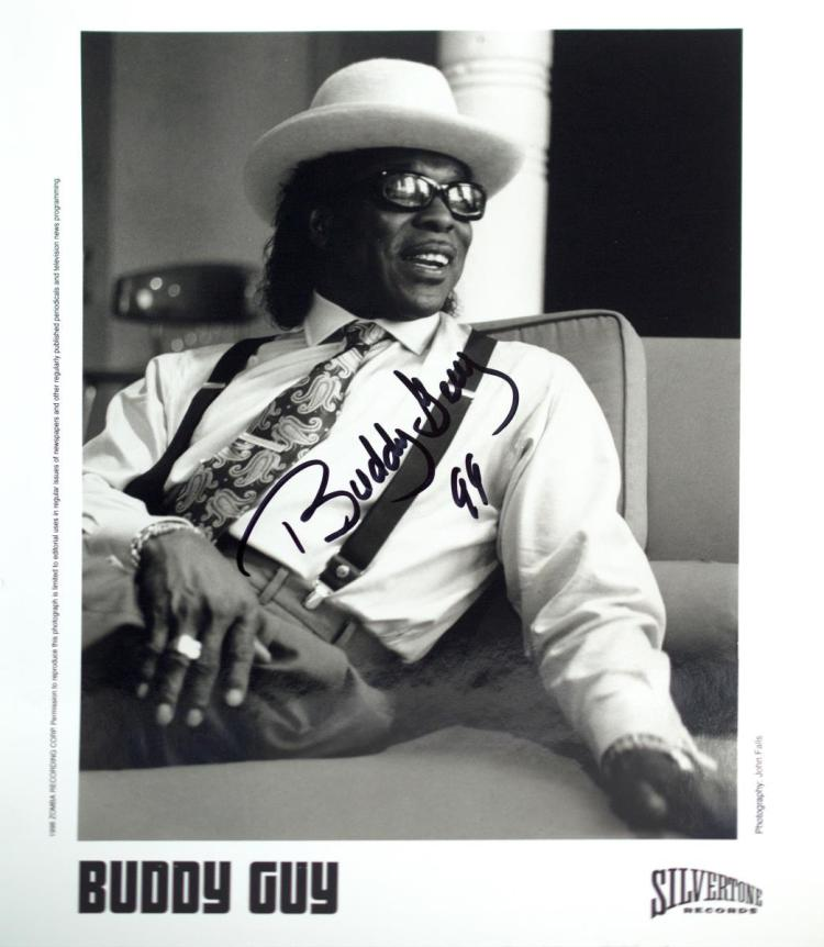Autographed Buddy Guy Photo