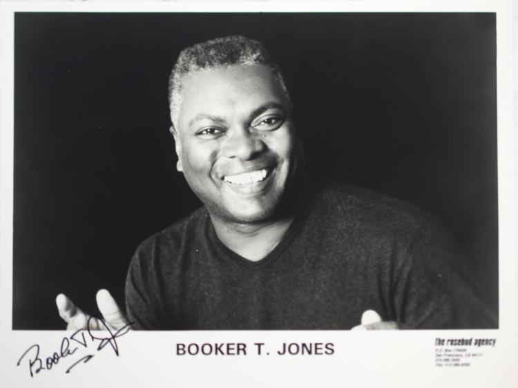 Autographed Booker T. Jones Photo