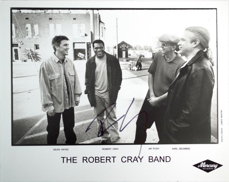 Autographed The Robert Cray Band Photo