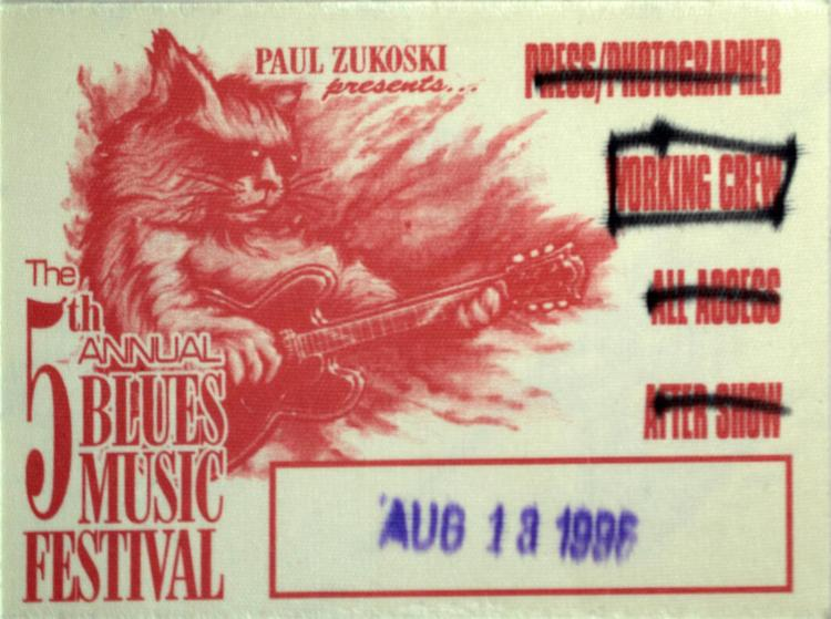 5th Annual Blues Music Fest Pass
