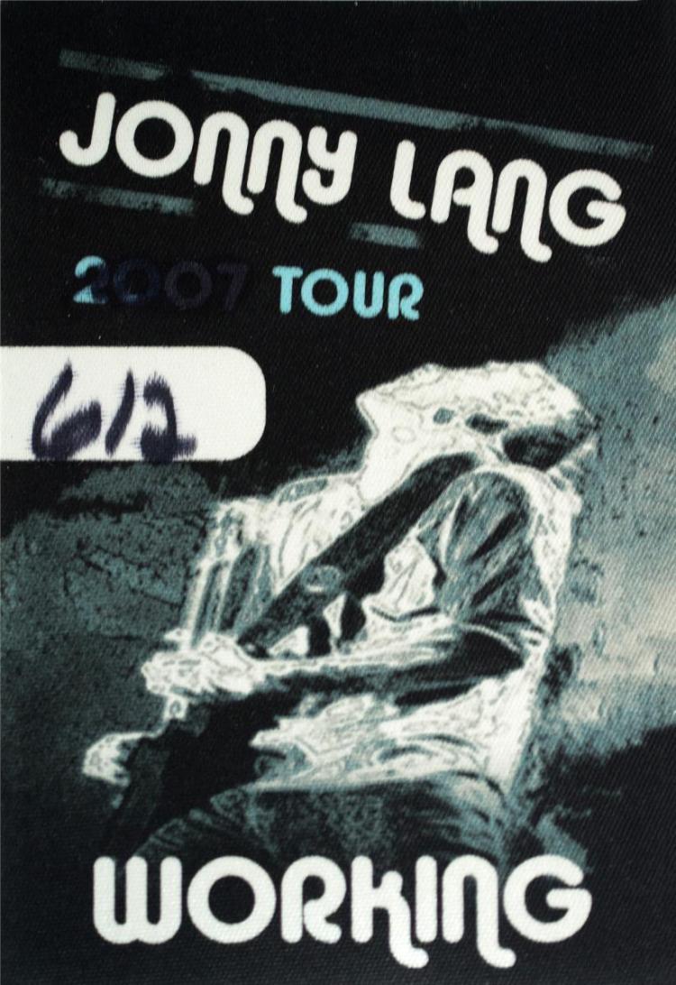 2007 Tour Jonny Lang Pass