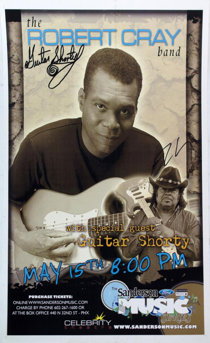 Autographed The Robert Cray Band Poster
