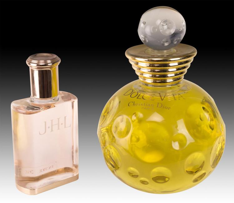 2Pc Store Display Christian Dior Perfume Bottle