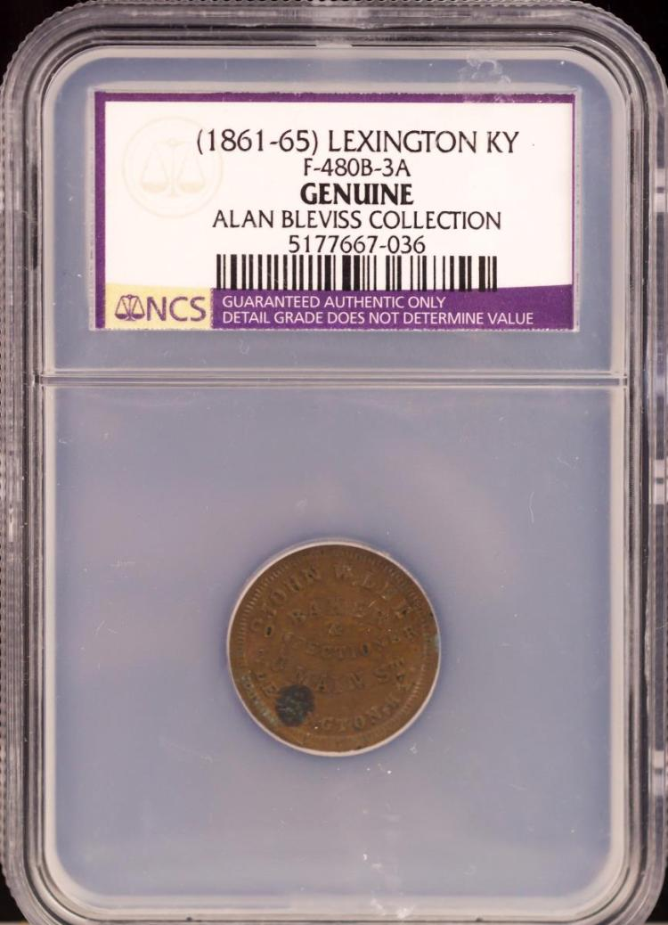 Civil War Token (1861-65) LEXINGTON F-480B-3A