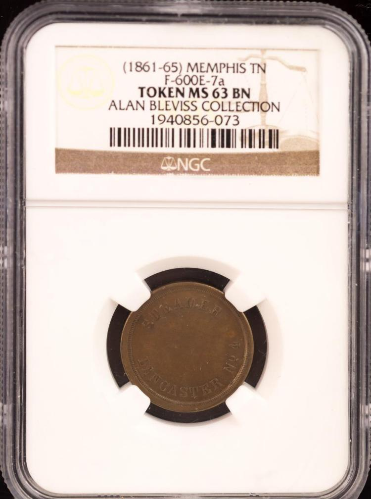 Civil War Token (1861-65) CINCINNATI F-165FXa-7a