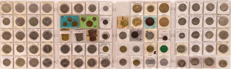 82 Pc. Alberta & B.C. Canadian Token Lot