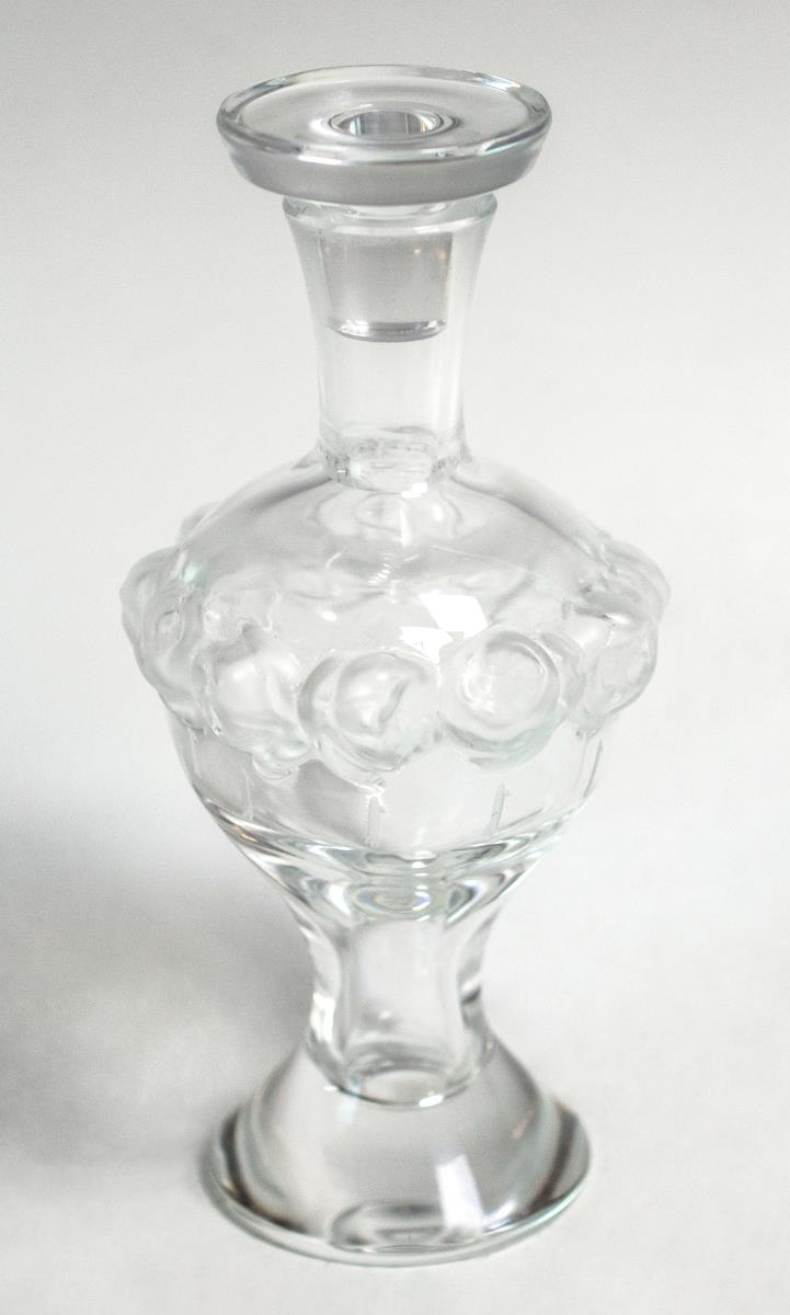 Lalique Crystal Martine Perfume Bottle