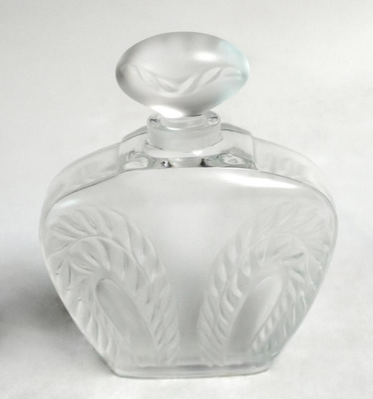 Lalique Crystal Nautical Perfume Bottle