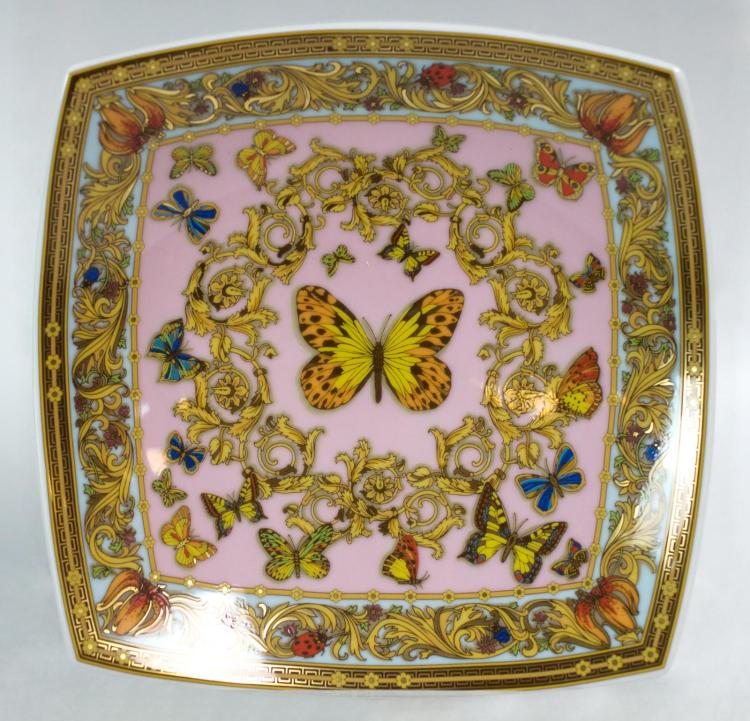 Versace by Rosenthal Porcelain Butterfly Bowl