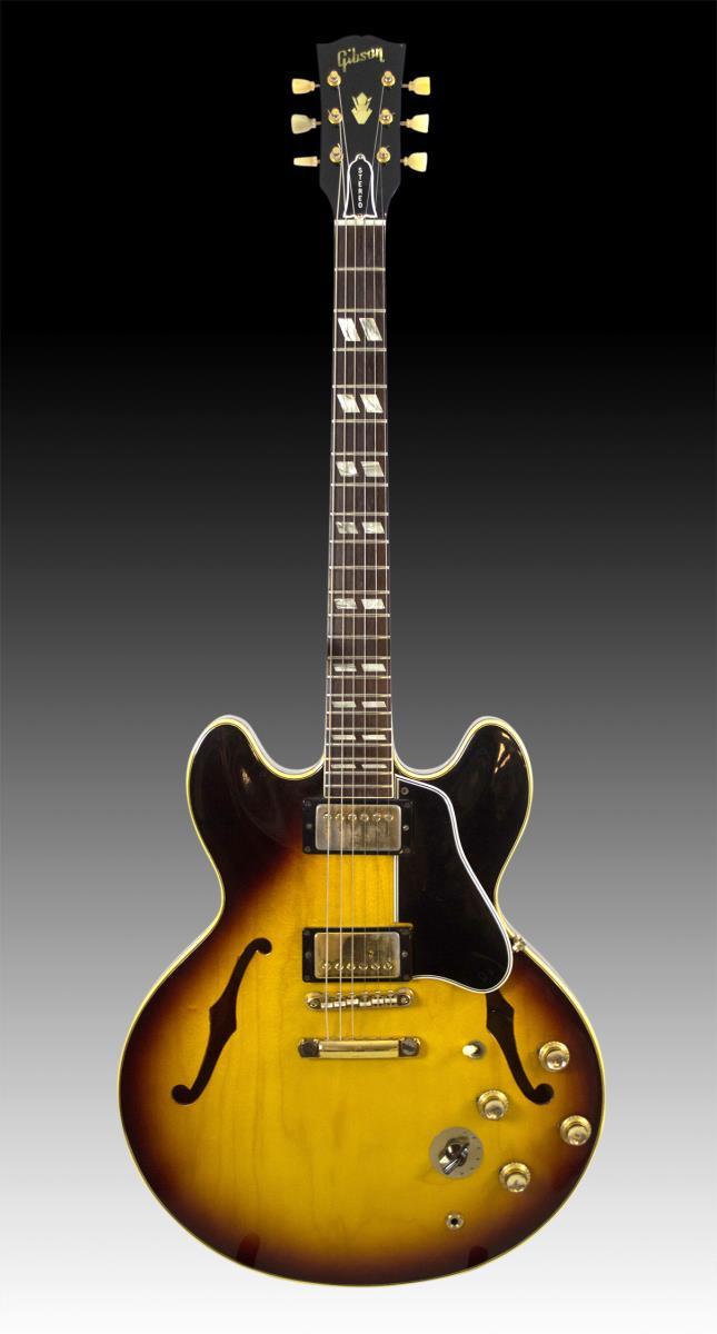 ES345 TD Eric Clapton /George Harrison 1964