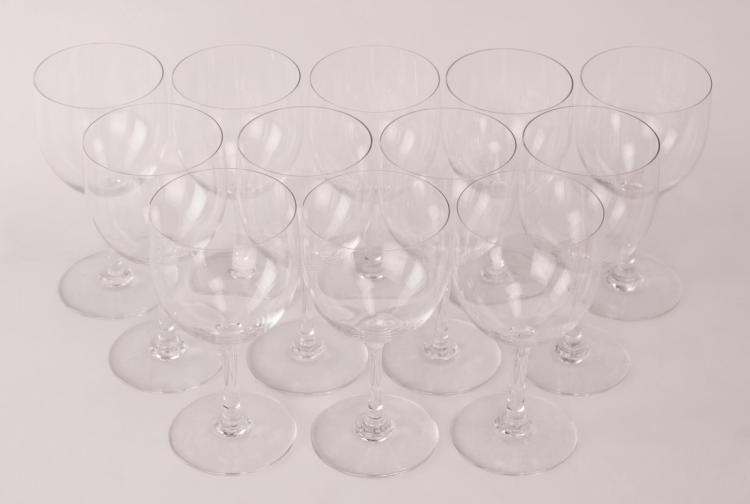 12Pc  Baccarat Crystal 6