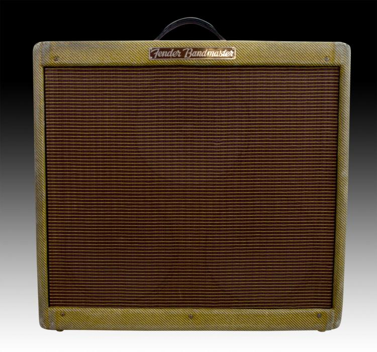 Rare Fender 1955 Bandmaster Tweed 5E7 Amplifier