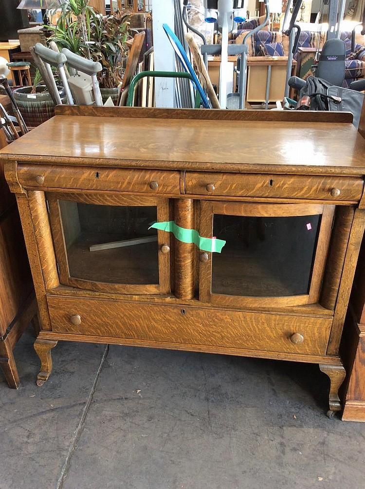 Antique Wooden Buffet ~ Antique wooden buffet