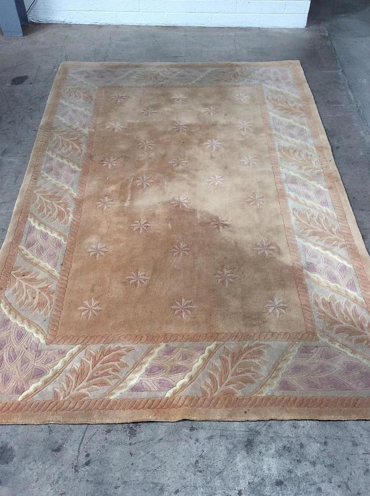 wool area rug 6 39 x 9 39. Black Bedroom Furniture Sets. Home Design Ideas