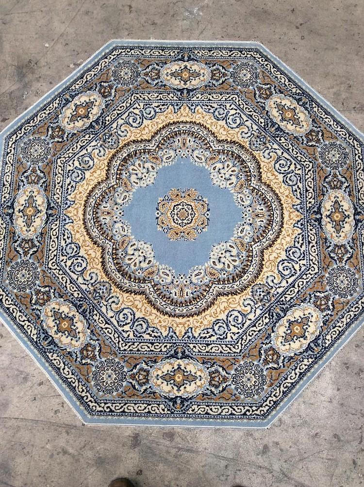 Octagonal Area Rugs Octagonal Area Rug Diy Fabric Floor
