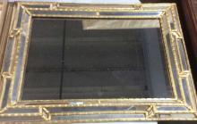 Vtg. Multi Paneled Gilt Mirror