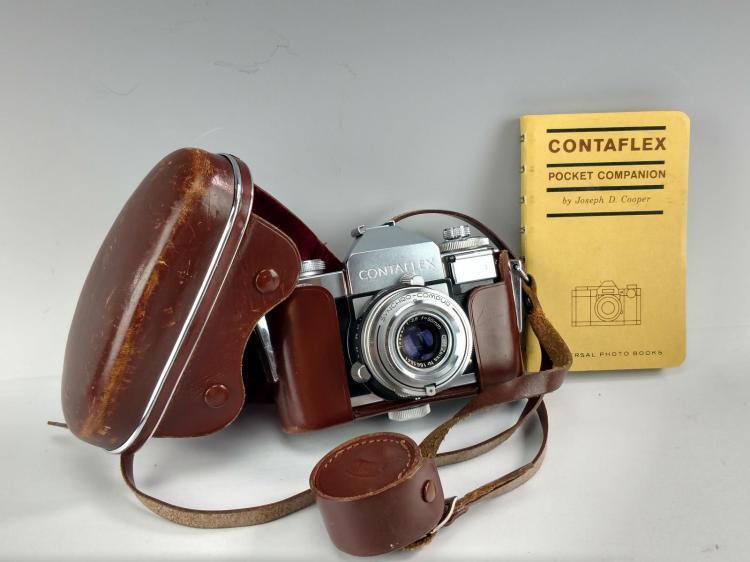 Vintage Zeiss Ikon Contaflex Camera #3