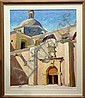 Walt (Walter) Gonske  (b.1942) Cathedral At Alamos, Mexico - Oil on Canvas, Walt Gonske, Click for value