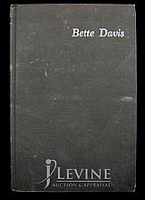 Bette Davis Book with Autograph & Sentiment