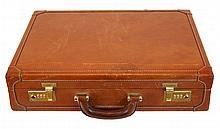 I Santi Leather Brief Case